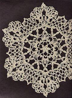 doily patterns ravelry: lacy six point doily pattern by cheri mancini - free pattern - avjhthi