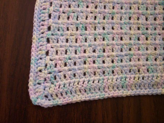 Easy Crochet Baby Blanket For Baby Shower