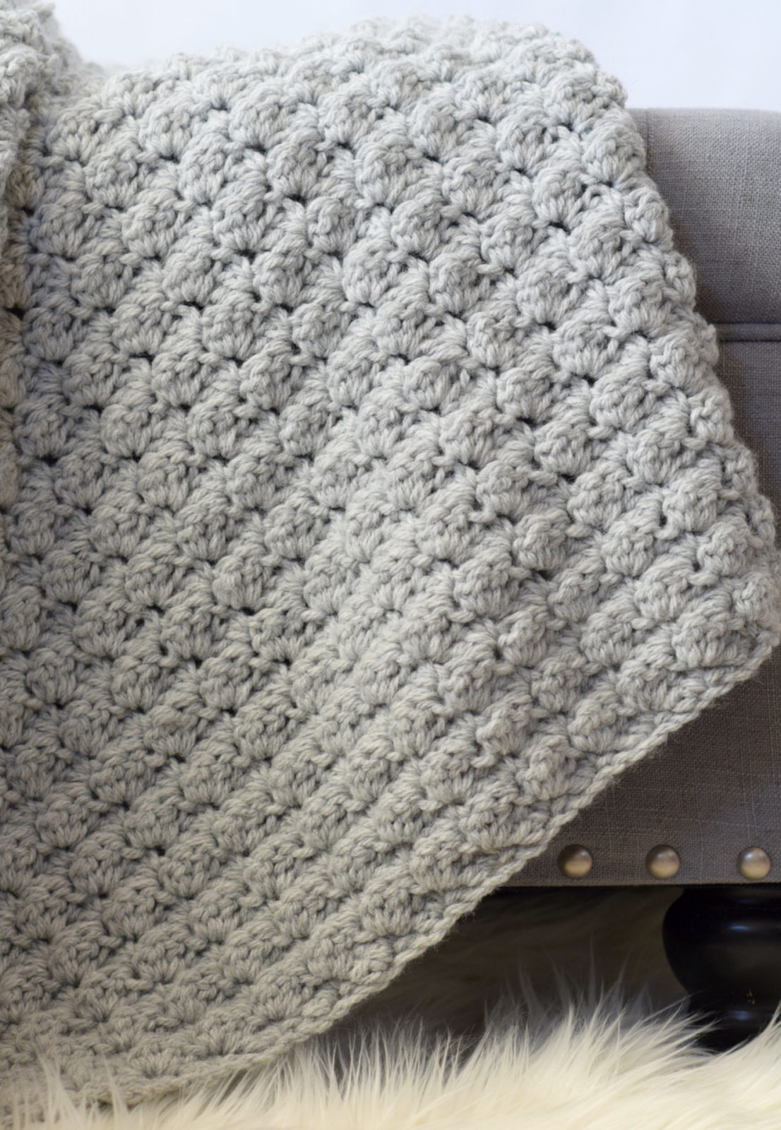easy crochet baby blanket of course, wool often isnu0027t typically the first choice for making a baby eejojnk