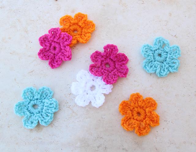 Elegant Easy Crochet Flower for use