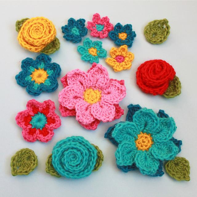 easy crochet flower flower shower iipnlzt