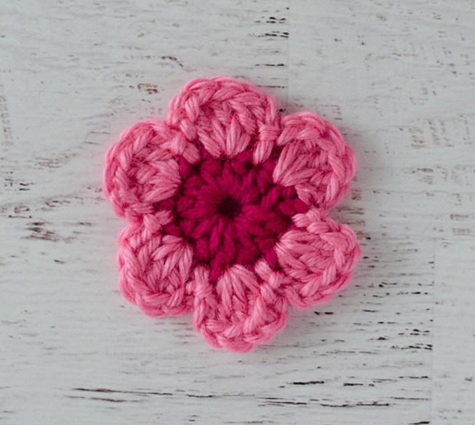 easy crochet flower pattern ahoxneu