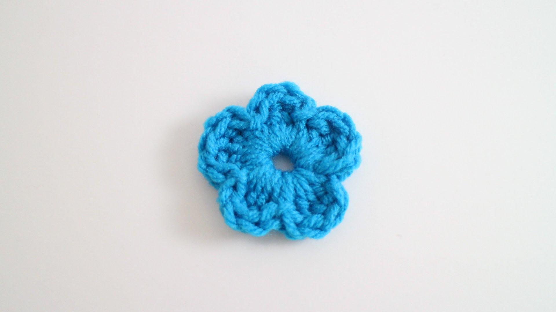 easy crochet flower - youtube lrfderx