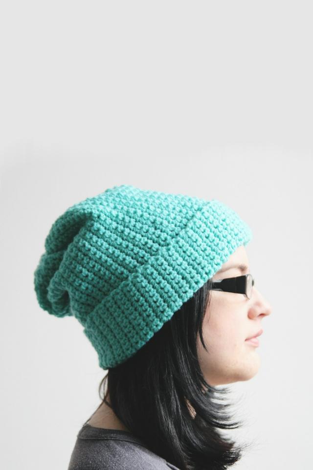 easy crochet hat make this easy, slouchy diy crochet hat tvehuos