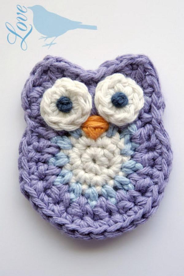 easy crochet patterns cute crochet little owl addcfmt