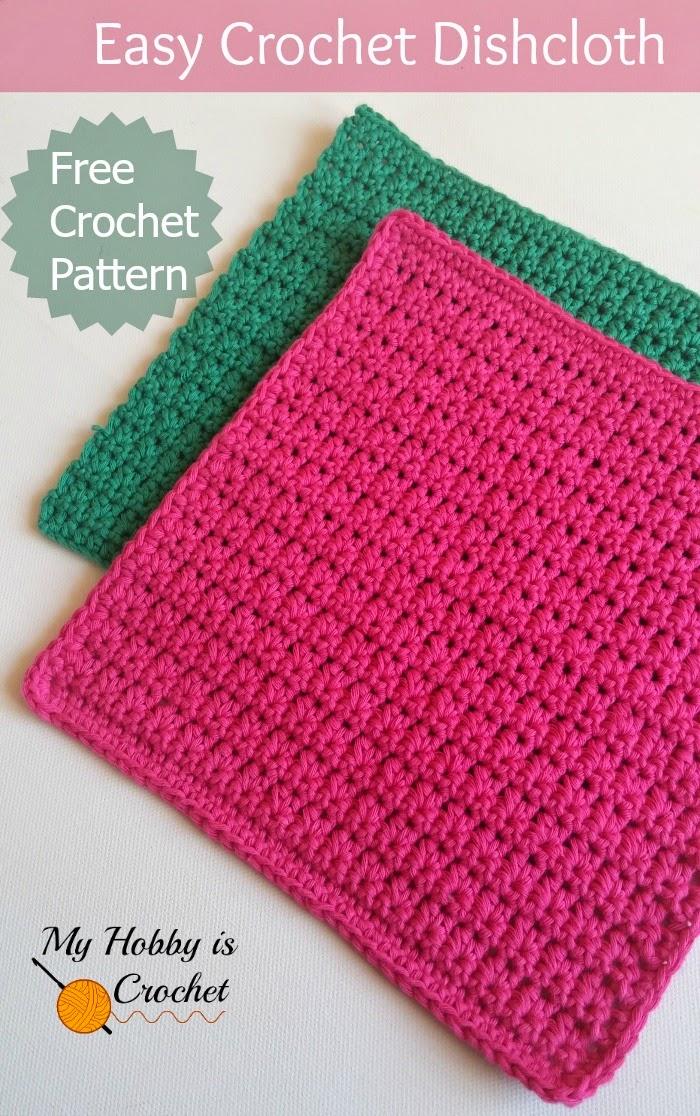 easy crochet patterns easy crochet dishcloth - free crochet pattern - written instructions and  crochet vijbcpn