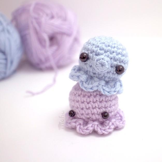 easy crochet patterns easy crochet mini octopus   17 amazing crochet patterns for beginners atuhzzr
