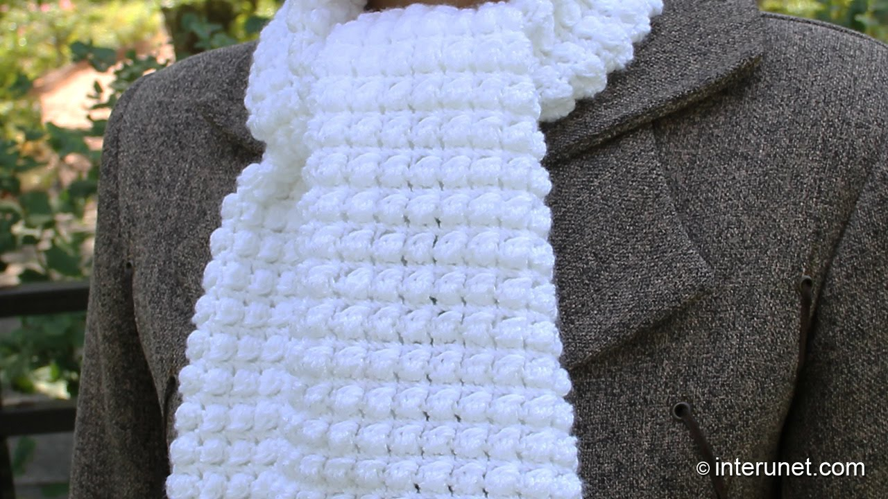 easy crochet scarf how to crochet a scarf - pattern for beginners - youtube vpppzms