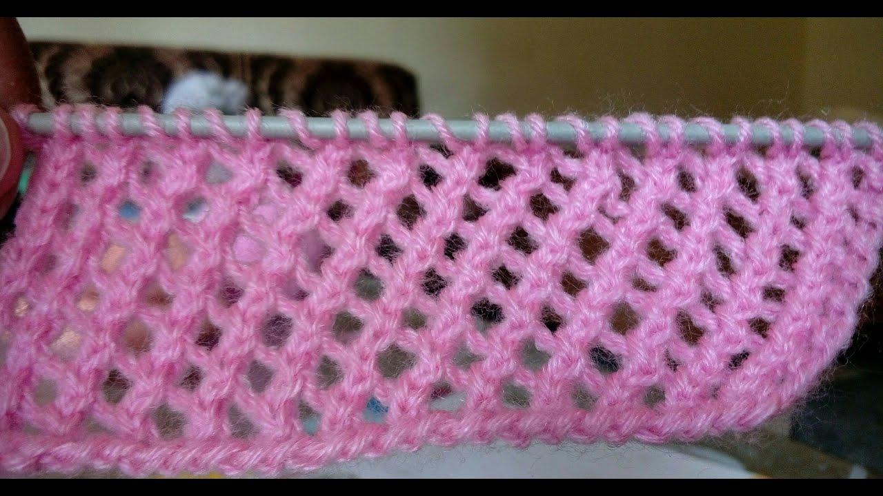 easy knitting patterns lace knitting pattern | easy knitting # 34 drcevzs