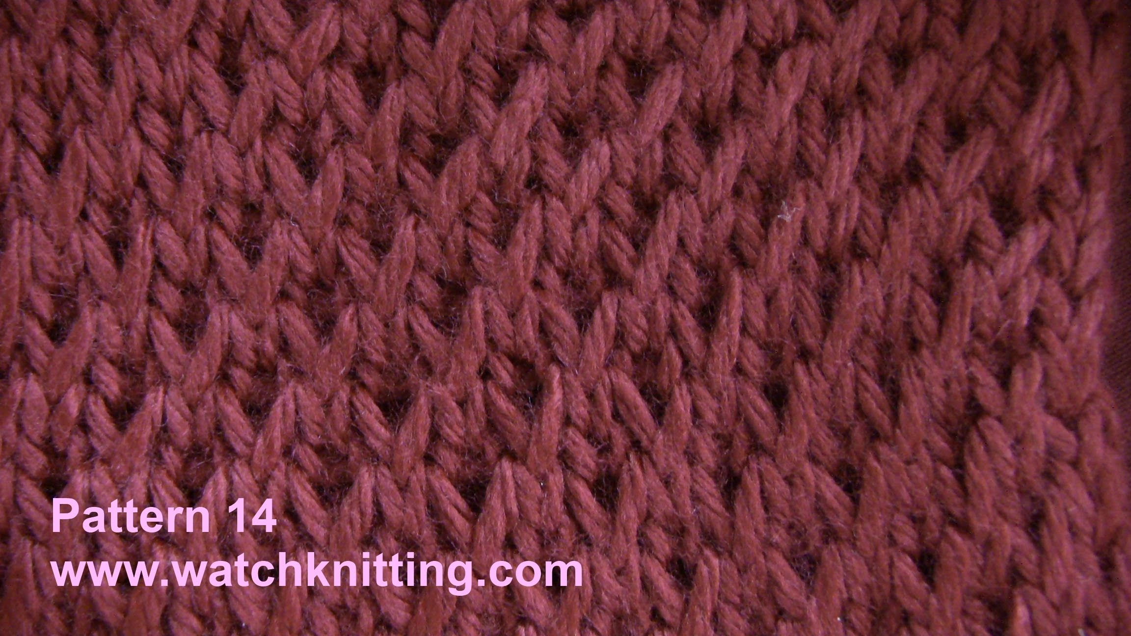 easy knitting patterns simulated brioche stitch - free knitting tutorial - watch knitting - pattern hdnemoc