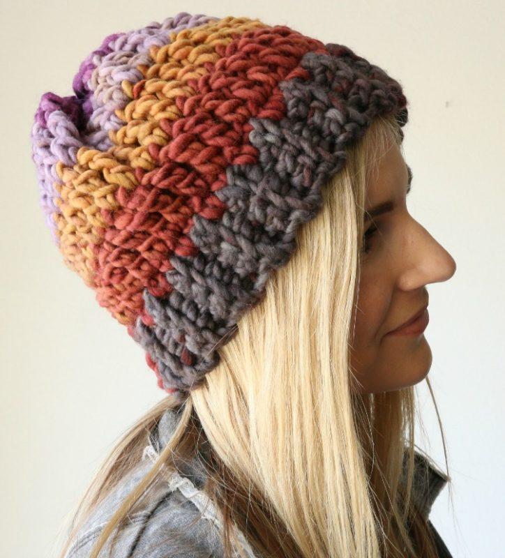easy slouchy crochet beanie tutorial dgcbxsd