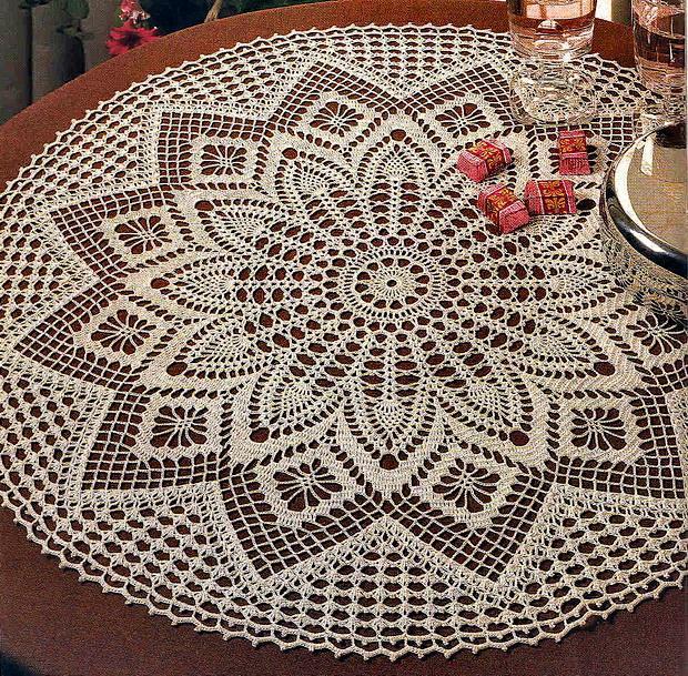 elegant decorative crochet tablecloth ztdkpls