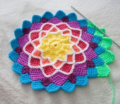 entrelac crochet for ... itwenyf