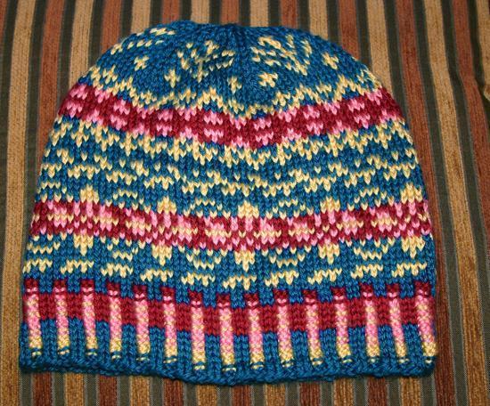 Fair Isle Knitting example of fair isle knitting. vcorxwm