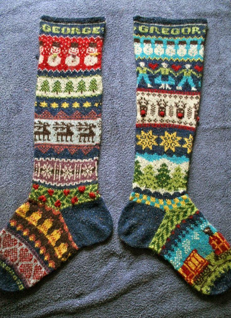 Fair Isle Knitting fair isle knitting festive fair isle christmas stockings izepluh wzxbcva