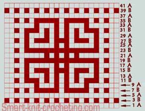 Fair Isle knitting patterns pattern #2. mosaic knitting pattern kkqtkhy