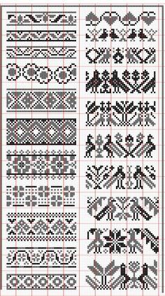 Fair Isle knitting patterns xx: cross patternsknit patternsfair isle knitting patternsknitting machine  patternsknitting chartsembroidery ... odsgnkx