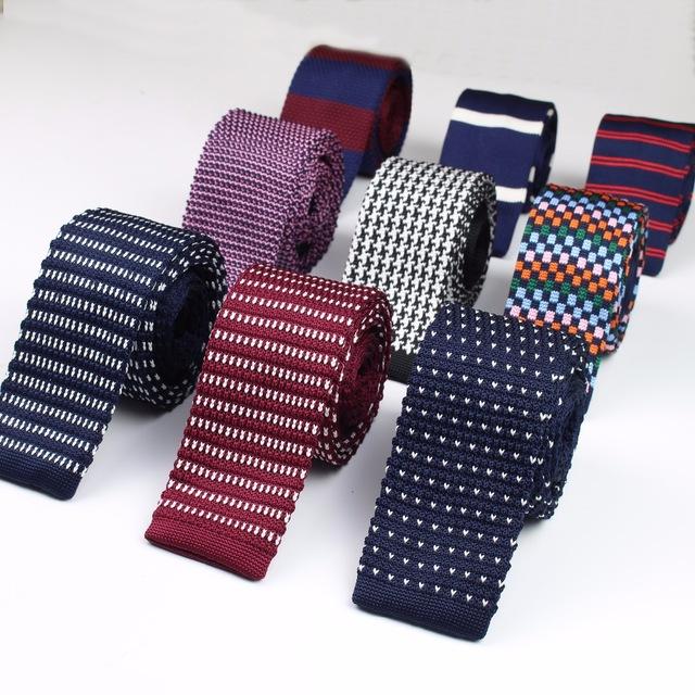 fashion menu0027s colourful tie knit knitted ties necktie narrow slim skinny  woven gnjmeut
