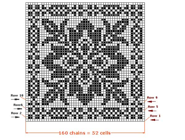 filet crochet patterns click for the chart ... bfmjdna
