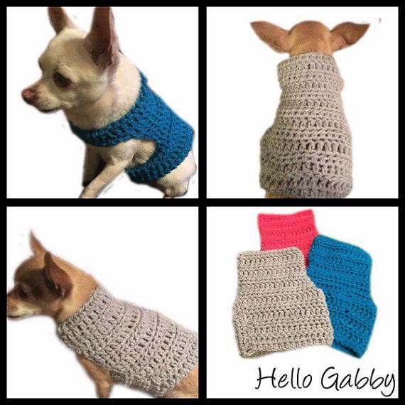 find the perfect outfit for your pup with our favorite crochet dog sweater zwtcach