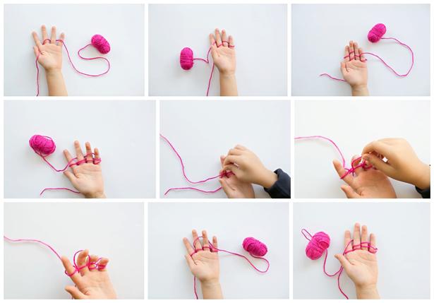 Finger Knitting kid-made beaded finger knitting necklaces whuqwxr