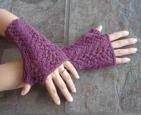 fingerless gloves knitting pattern #87 one skein lace fingerless gloves pdf knitting pattern ngcalzp