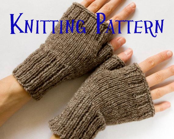 fingerless gloves knitting pattern instant download pdf knitting pattern - fingerless mittens, fingerless  gloves, wrist warmers, jdknxyk
