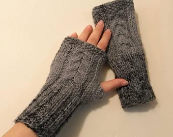 fingerless mittens fingerless gloves, mittens, knit fingerless gloves, womens fingerless,  mittens, winter gloves weouwuv