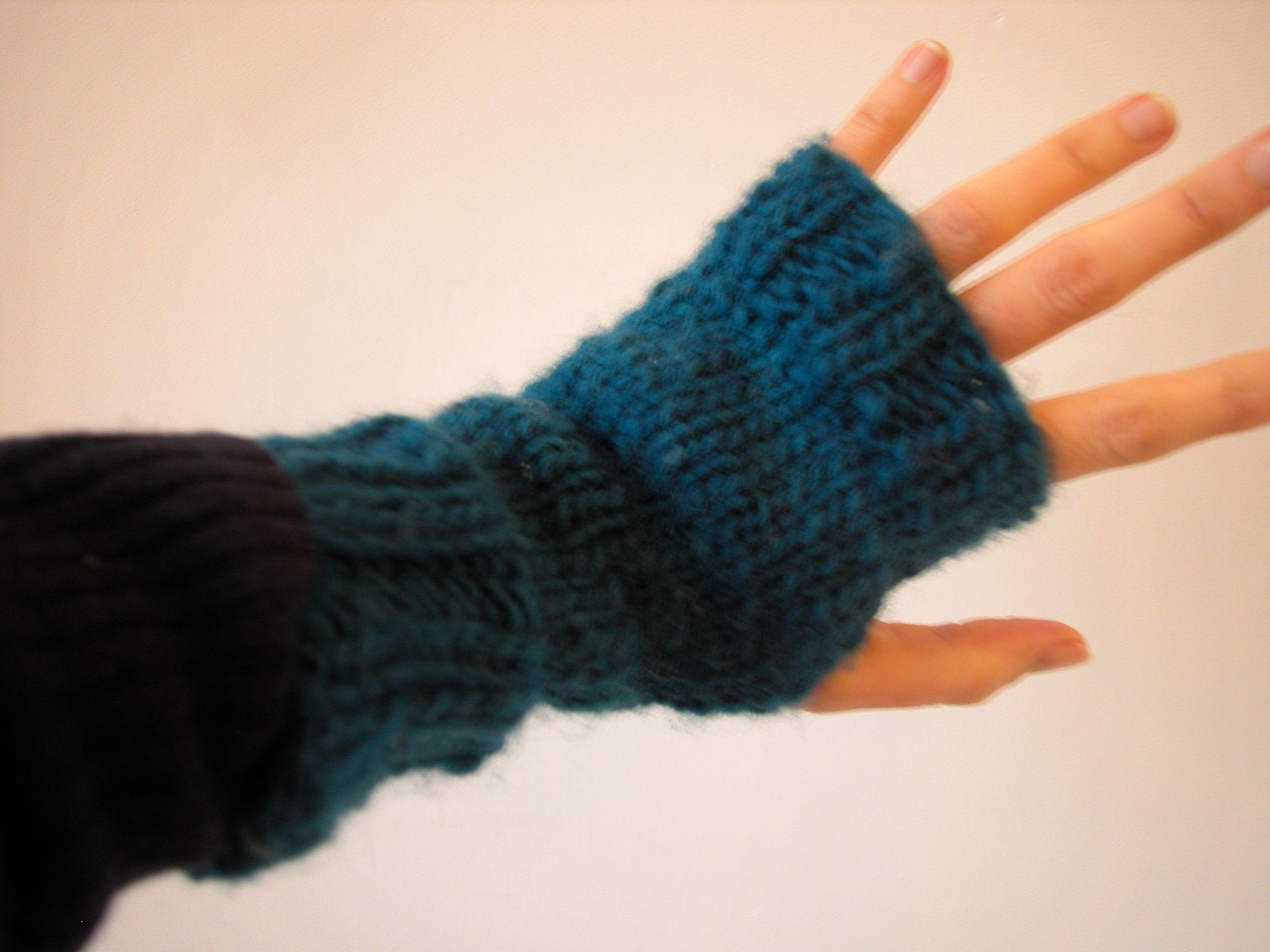 fingerless mittens this ... zjxalor