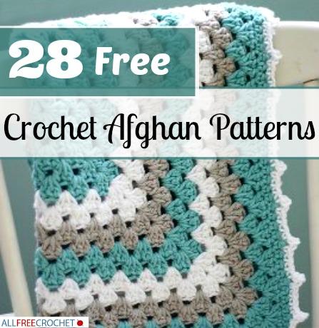 free afghan crochet patterns 28 free crochet afghan patterns   allfreecrochet.com mbbfdtl