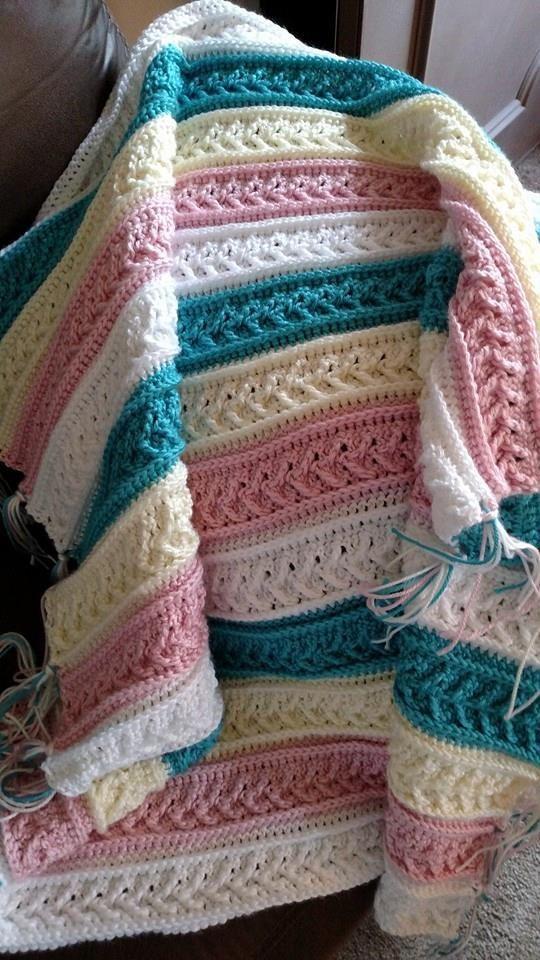 free afghan crochet patterns arrow stitch crochet afghan pgafarq
