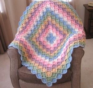 free afghan crochet patterns bavarian rainbow afghan lkqawmp