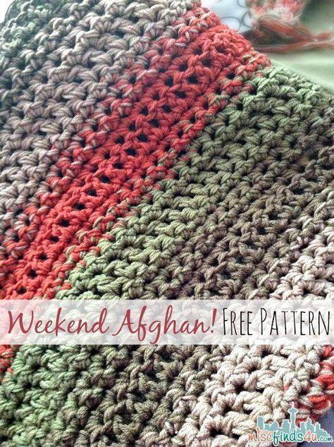 free afghan crochet patterns free crochet pattern: fast and easy throw blanket or afghan wkvvxac