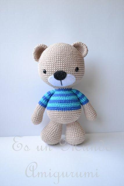 free amigurumi patterns amigurumi teddy bear - free crochet pattern / tutorial kalzhaw