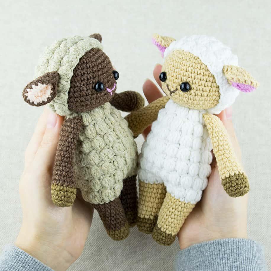 free amigurumi patterns crochet cuddle me sheep - free amigurumi pattern by amigurumi today hbmvmpy