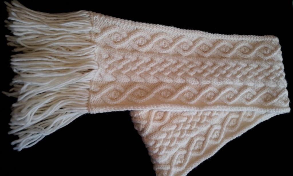 free aran knitting patterns jennu0027s scarf free knitting pattern eqlywuw