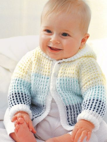 free baby knitting patterns hooded cardigan ttwhrcy