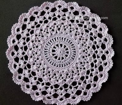 free crochet doily patterns pear blossums crochet doily: crochet a free doily pattern that is  intricate, husjqgx