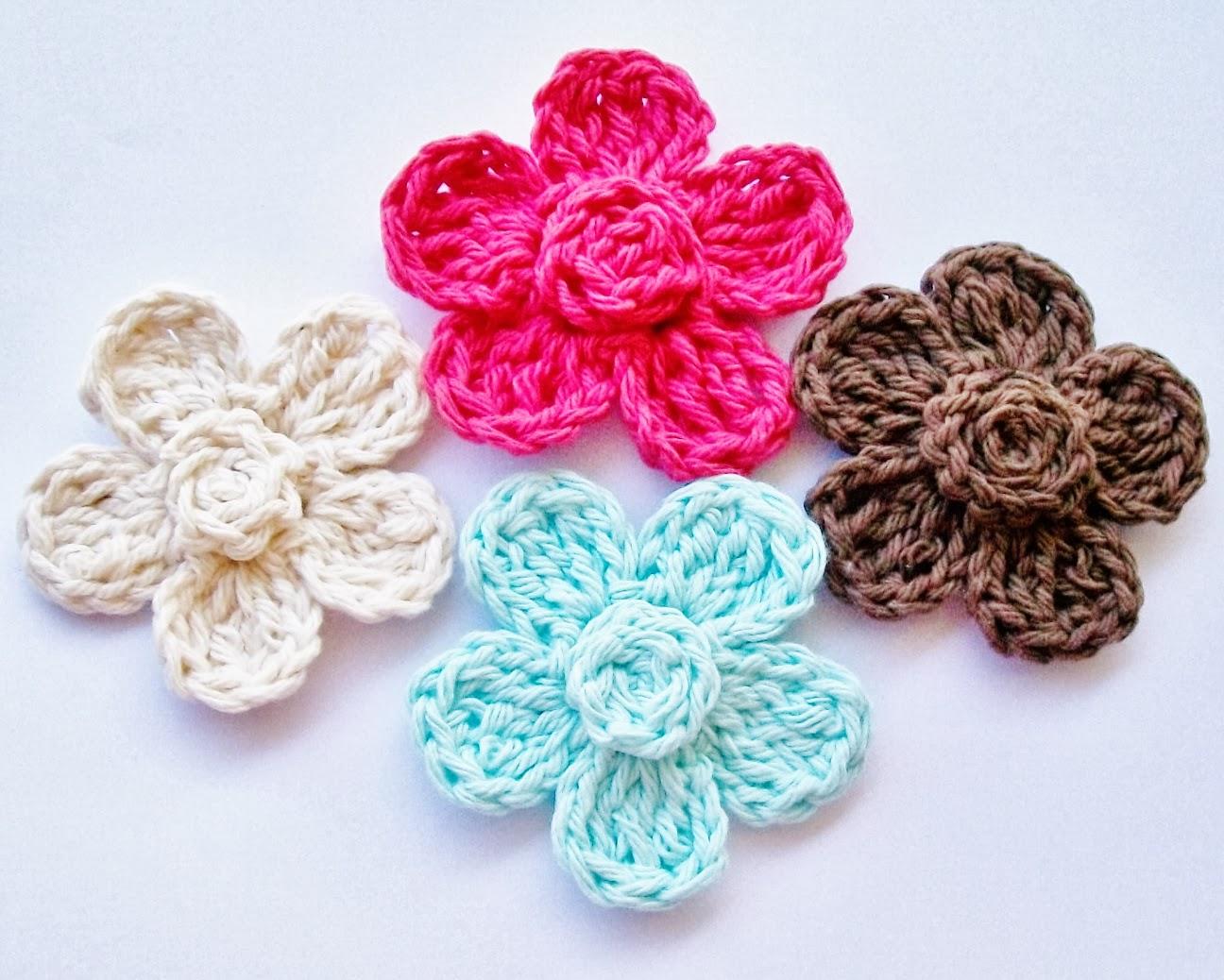 free crochet flower pattern hiynofu