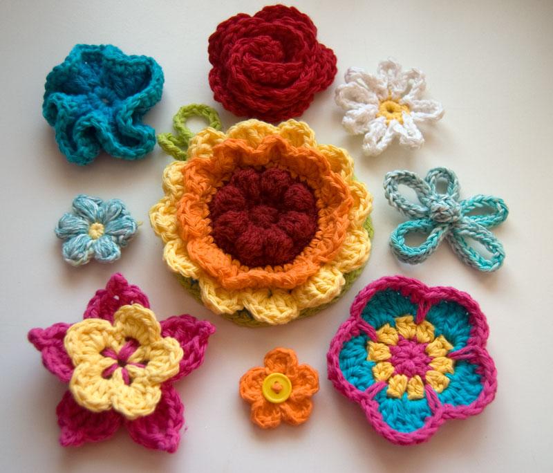 free crochet flower patterns 10 beautiful (and free) crochet flower patterns whbfmgy