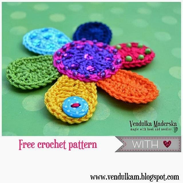 free crochet flower patterns 23. fckctpj