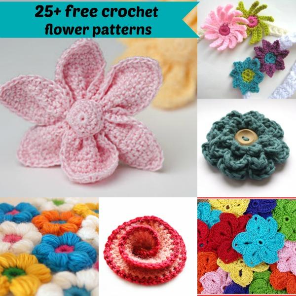 free crochet flower patterns 25+ free easy crochet flowers patterns zttlamc