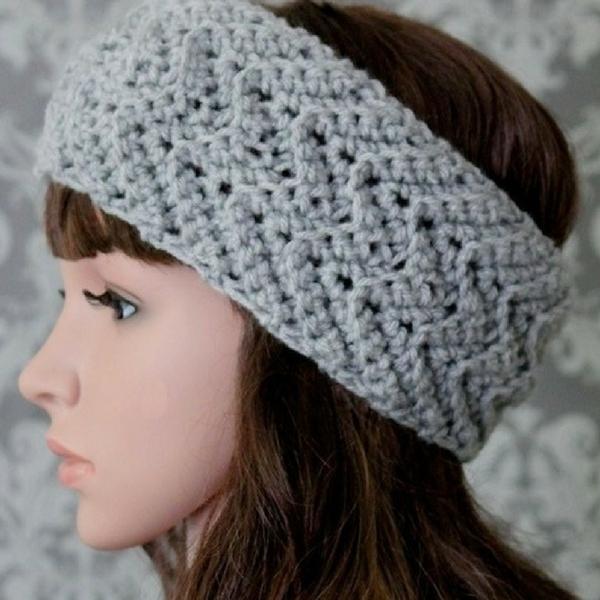 free crochet headband pattern crvrkgu