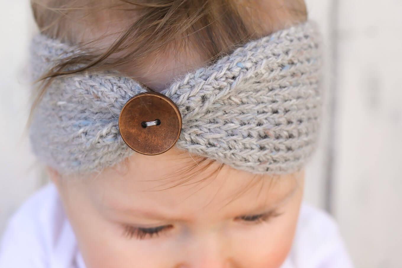 free crochet headband pattern! sizes include, newborn, 3-6 months (baby gpvkchh