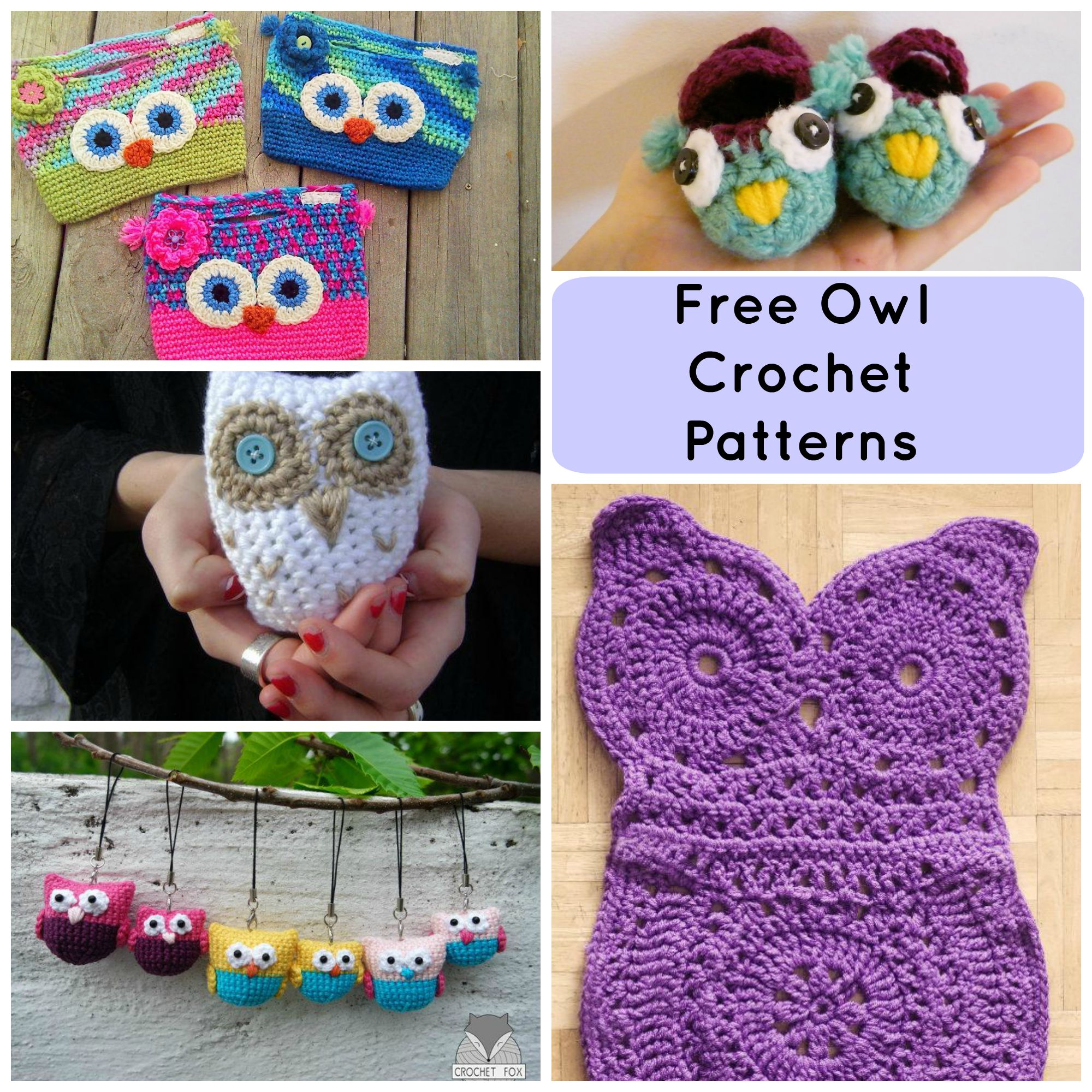 Free crochet patterns 7 hoot-worthy free crochet owl patterns pouetze