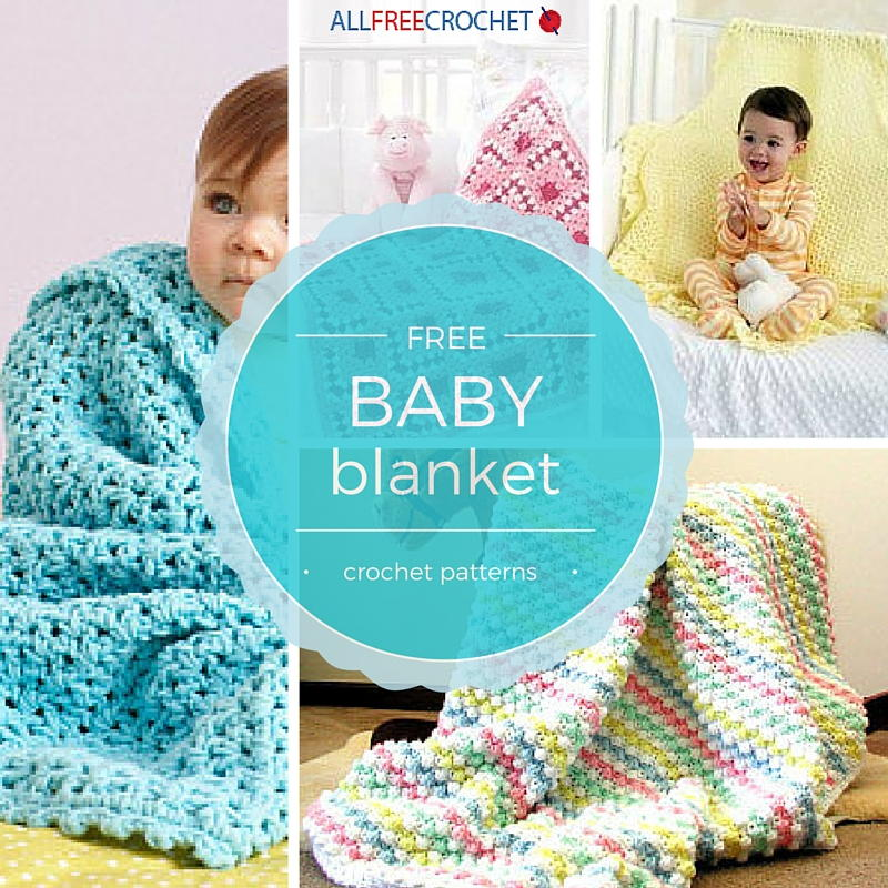 free crochet patterns for baby blankets 50+ baby blanket patterns   allfreecrochet.com gbkhswj