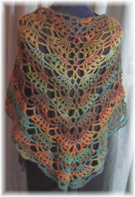 free crochet shawl patterns - 5 flcsmat
