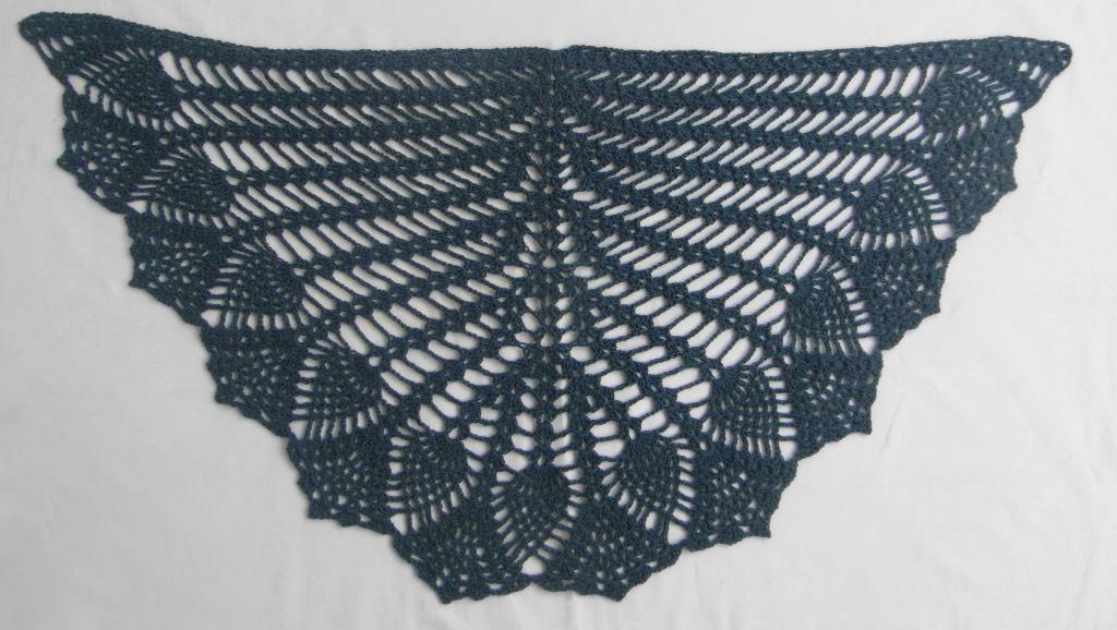 free crochet shawl patterns pineapple crochet shawl okwreis