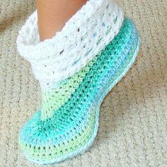free crochet slipper patterns adult and kids cuffed boots pattern 12   baby slippers, crochet and crochet xgmqrzf