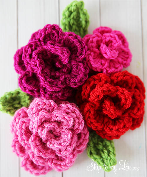 free easy crochet rose pattern rupzrlu